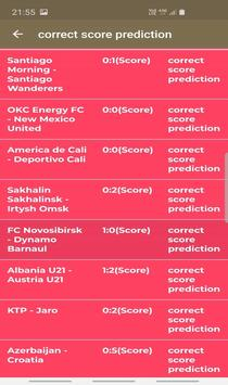 fixed matches correct score screenshot 1
