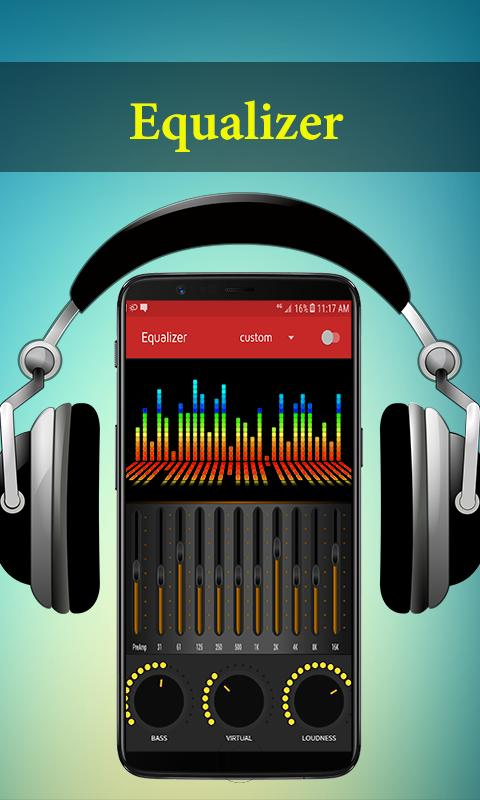 Audio Music Player & Audio Player Free Equalizer for Android