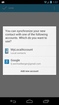 MyLocalAccount screenshot 1