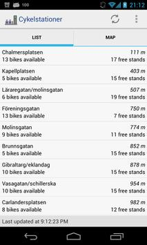 Cykelstationer poster