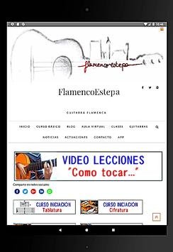 Clases Guitarra Flamenca screenshot 4