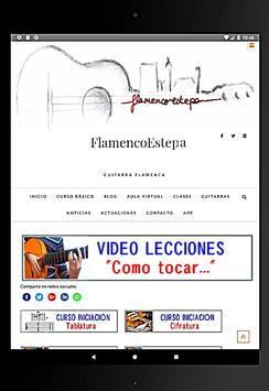 Clases Guitarra Flamenca screenshot 3