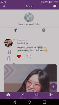 fLAND - Roleplaying Social Network screenshot 1