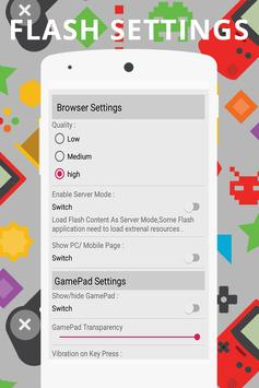 Flash Player For Android 2019 Swf - FLV Simulator screenshot 9