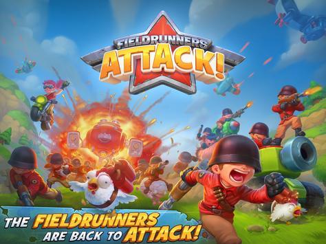 Fieldrunners Attack! captura de pantalla 8