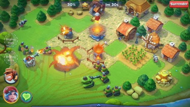 Fieldrunners Attack! captura de pantalla 1