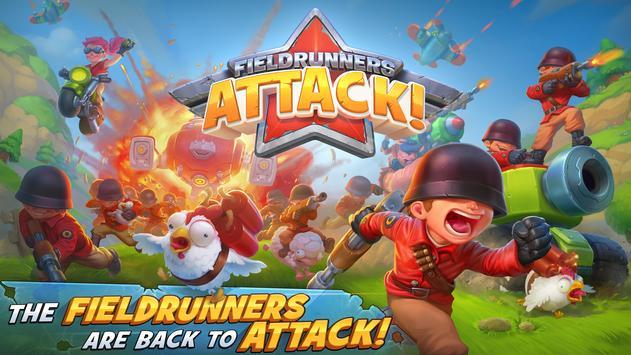 Fieldrunners Attack! captura de pantalla 3