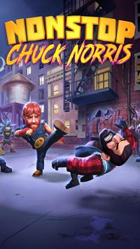 Nonstop Chuck Norris - RPG Offline Dungeon Crawler poster