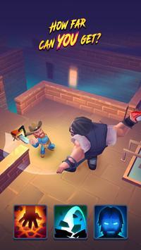 Nonstop Chuck Norris - RPG Offline Dungeon Crawler screenshot 4