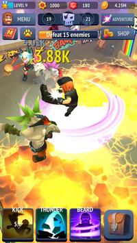 Nonstop Chuck Norris - RPG Offline Dungeon Crawler screenshot 6