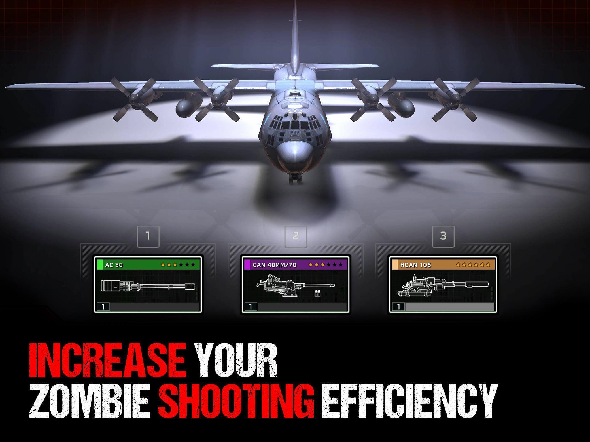 Zombie Gunship Survival poster