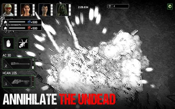 Zombie Gunship Survival - Action Shooter स्क्रीनशॉट 10
