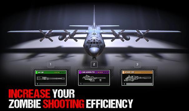 Zombie Gunship Survival - Action Shooter स्क्रीनशॉट 12