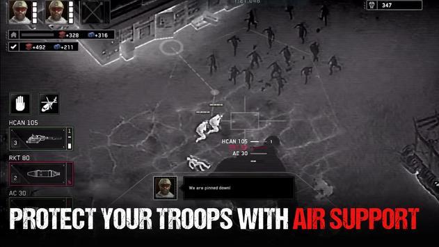 Zombie Gunship Survival تصوير الشاشة 2