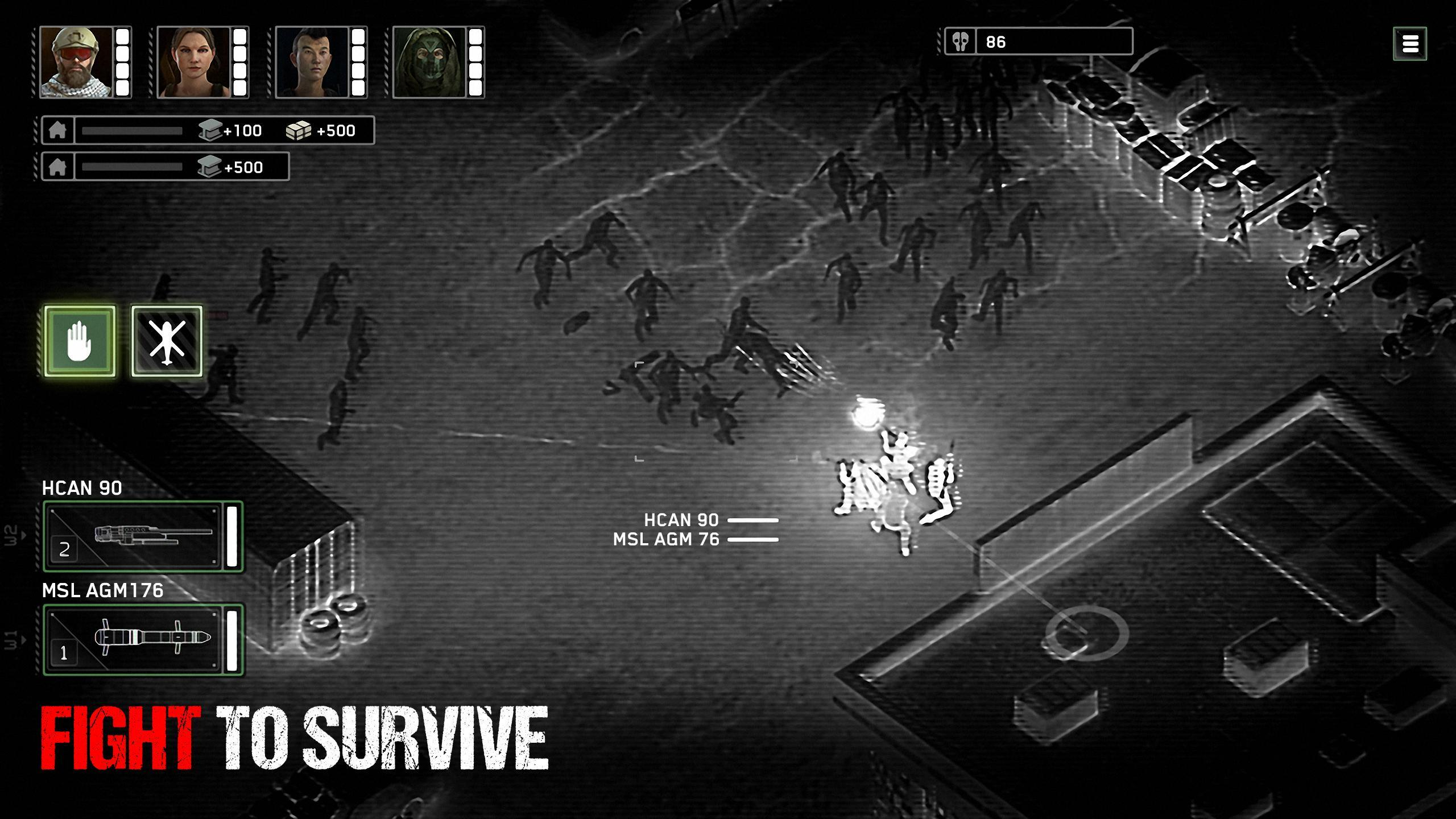 Zombie Gunship Survival poster