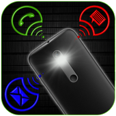 FlashLight on Call – Automatic Flash Light Blink icon