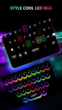 LED Keyboard Lighting - Mechanical Keyboard RGB poster