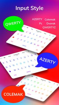 LED Lighting Keyboard - Emoji Keyboard, Fonts, GIF screenshot 6
