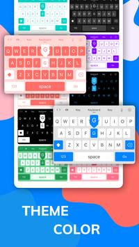 LED Lighting Keyboard - Emoji Keyboard, Fonts, GIF screenshot 8