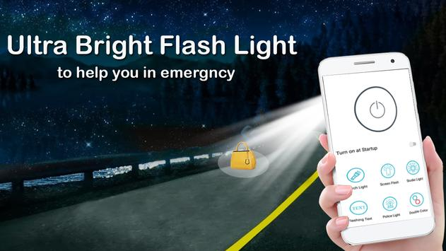 Flashlight App free: Mobile Torch & LED Light screenshot 4