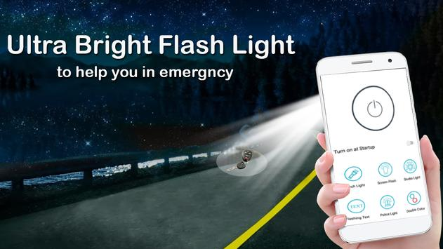 Flashlight App free: Mobile Torch & LED Light screenshot 8