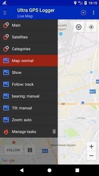 Ultra GPS Logger скриншот 2
