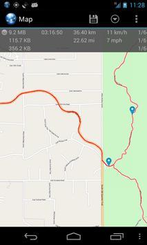 Ultra GPS Logger скриншот 5