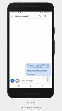 Flash SMS screenshot 1