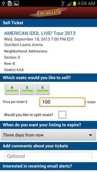 Flash Seats screenshot 3