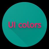 UI colors icon