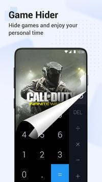 HideX: Calculator Photo Vault, App Lock, App Hider تصوير الشاشة 4