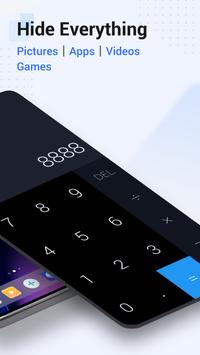 HideX: Calculator Photo Vault, App Lock, App Hider تصوير الشاشة 1