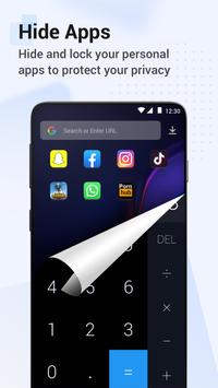 HideX: Calculator Photo Vault, App Lock, App Hider تصوير الشاشة 3
