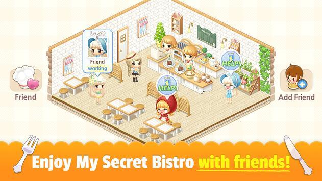 My Secret Bistro syot layar 6