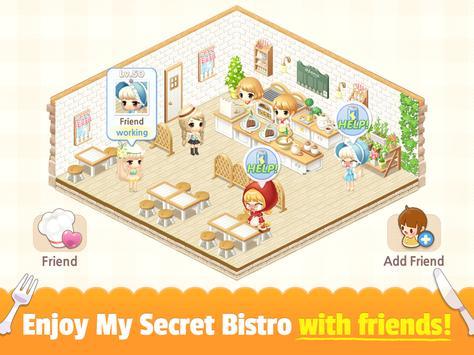 My Secret Bistro syot layar 13