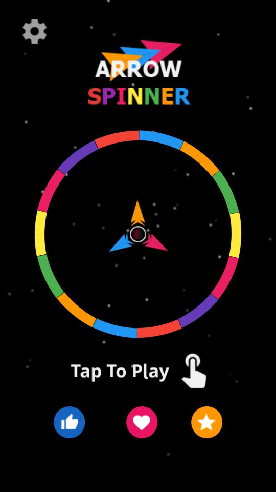 Arrow Spin hit and flip the twisty circle for Android - APK