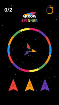 Arrow Spin hit and flip the twisty circle screenshot 1