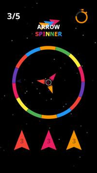 Arrow Spin hit and flip the twisty circle screenshot 2