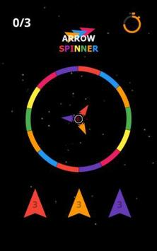 Arrow Spin hit and flip the twisty circle screenshot 7