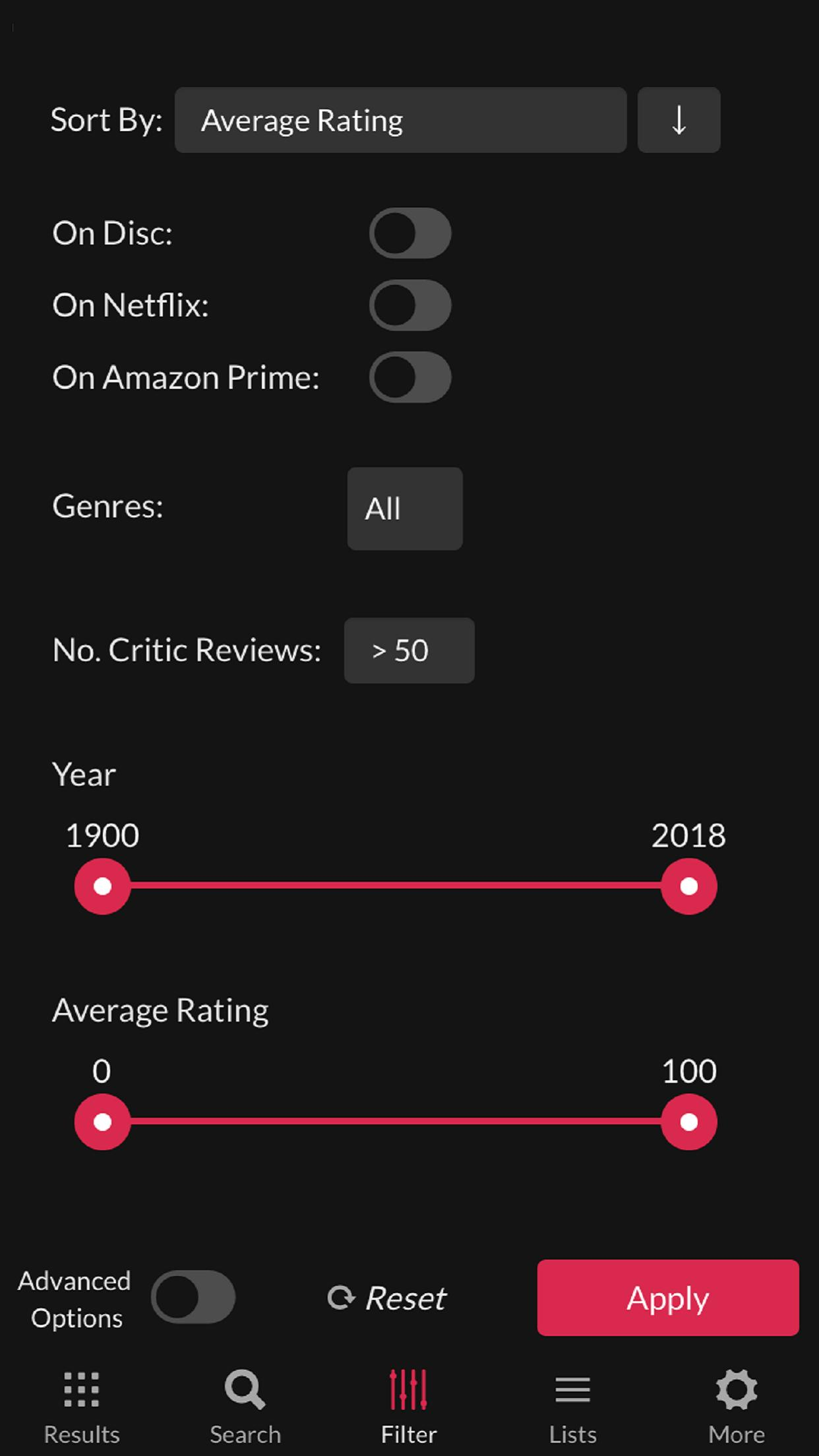 Best Netflix Movies - Search Netflix Movies for Android