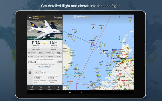 7 Schermata Flightradar24