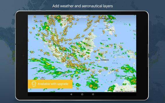 8 Schermata Flightradar24