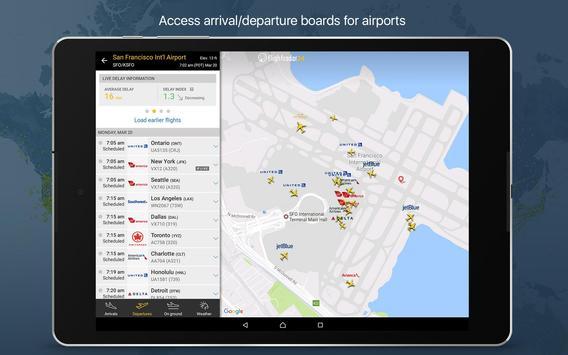 Flightradar24 تصوير الشاشة 9