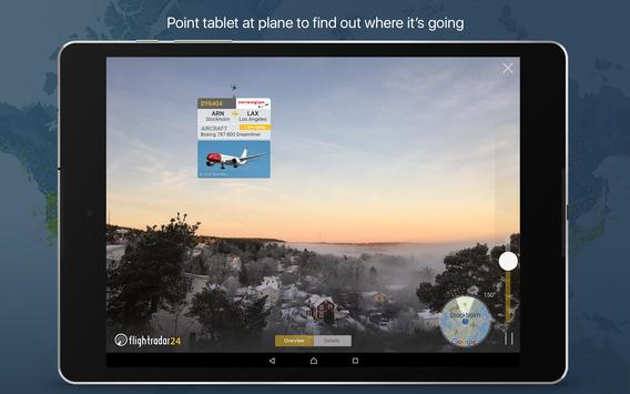 10 Schermata Flightradar24