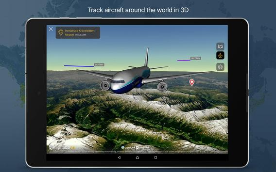 11 Schermata Flightradar24