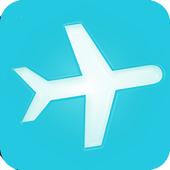 تذاكر الطيران الرخيصة أيقونة