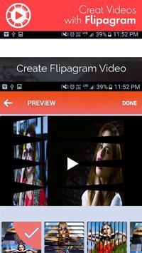 FLlPAGRAM Photos With Music: Slideshow Video Maker poster