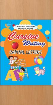 Gunjan Cursive Writing - Capital poster