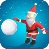 Santa Snowball Christmas Adventure icon