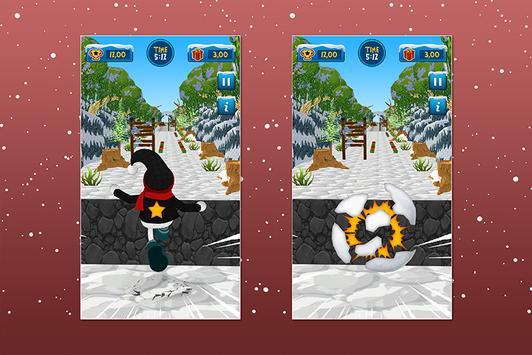 Santa Snowball Christmas Adventure screenshot 2
